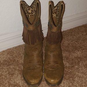 Blazin Roxx childrens boots size 13